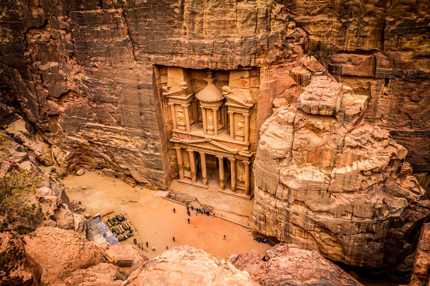 Escorted Jordan Tours by Cox and Kings - Petra